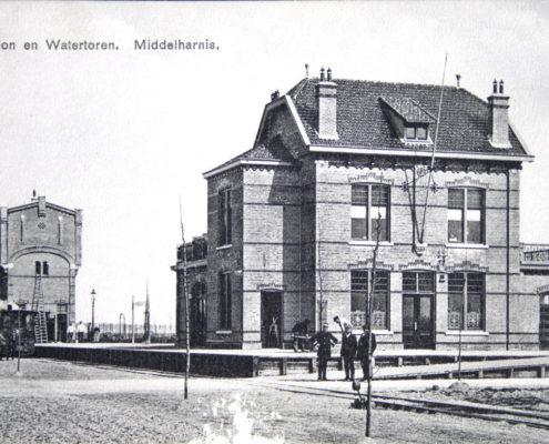 poi 19.5 Middelharnis station en watertoren Voorbeeld cover 1_Wijnand de Gooijer RTM
