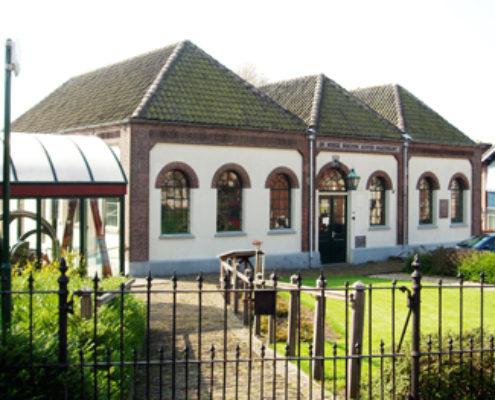 Museumgemaal de Hooge Boezem achter Haastrecht